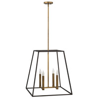 Hinkley 3336BZ Fulton 4 Light 22 inch Bronze Foyer Pendant Ceiling Light
