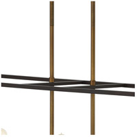 Hinkley 3338BZ Fulton 8 Light 48 inch Bronze Linear Foyer Ceiling Light alternative photo thumbnail