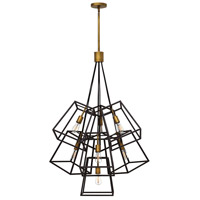 Hinkley 3357BZ Fulton 7 Light 28 inch Bronze Pendant Ceiling Light