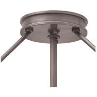 Hinkley 3381AN Collier 3 Light 17 inch Antique Nickel Foyer Semi-Flush Mount Ceiling Light in Incandescent alternative photo thumbnail