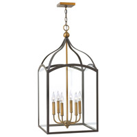 Hinkley 3414BZ Clarendon 6 Light 16 inch Bronze Hanging Foyer Ceiling Light