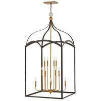 Hinkley 3419BZ Clarendon 12 Light 30 inch Bronze/Heirloom Brass Chandelier Ceiling Light