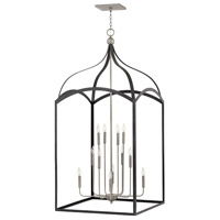 Hinkley 3419DZ Clarendon 12 Light 30 inch Aged Zinc Chandelier Ceiling Light