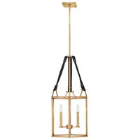 Hinkley 34204HBR Lisa McDennon Monroe 3 Light 16 inch Heritage Brass Chandelier Ceiling Light