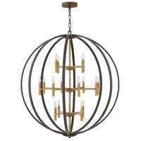 Hinkley 3464SB Euclid 16 Light 44 inch Spanish Bronze Chandelier Ceiling Light