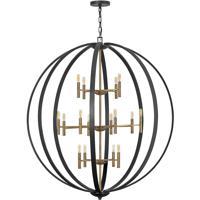 Hinkley 3465SB Euclid 16 Light 52 inch Spanish Bronze/Heirloom Brass Chandelier Ceiling Light