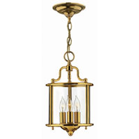 Hinkley Lighting Gentry 3 Light Hanging Foyer in Polished Brass 3470PB