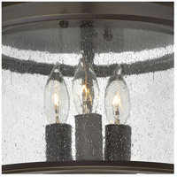 Hinkley 3473OB Gentry 3 Light 12 inch Olde Bronze Foyer Flush Mount Ceiling Light alternative photo thumbnail