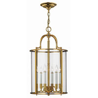Hinkley Lighting Gentry 6 Light Hanging Foyer in Polished Brass 3478PB