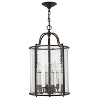 Hinkley 3478OB Gentry 6 Light 14 inch Olde Bronze Foyer Ceiling Light in Seedy Bent