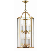 Hinkley Lighting Gentry 12 Light Hanging Foyer in Polished Brass 3479PB photo thumbnail