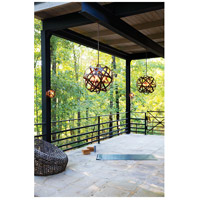 Hinkley 29705VI-LL Carson LED 27 inch Vintage Iron Outdoor Pendant alternative photo thumbnail