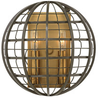 Terra 2 Light 10 inch Oiled Bronze Sconce Wall Light