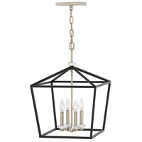 Stinson 4 Light 16 inch Black Chandelier Ceiling Light
