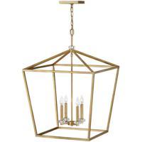 Hinkley 3538DA Stinson 4 Light 22 inch Distressed Brass Chandelier Ceiling Light