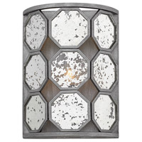Hinkley 3560BV Lara 1 Light 9 inch Brushed Silver ADA Sconce Wall Light