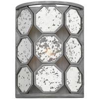 Hinkley 3560BV Lara 1 Light 9 inch Brushed Silver ADA Wall Sconce Wall Light