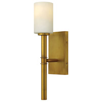 Hinkley Lighting Margeaux 1 Light Wall Sconce in Vintage Brass 3580VS