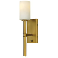 Hinkley 3581VS Margeaux 1 Light 5 inch Vintage Brass Wall Sconce Wall Light