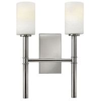 Margeaux 2 Light 13 inch Polished Nickel Sconce Wall Light