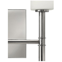 Hinkley 3582PN Margeaux 2 Light 13 inch Polished Nickel Sconce Wall Light alternative photo thumbnail