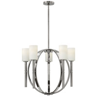 Margeaux 5 Light 26 inch Polished Nickel Chandelier Ceiling Light