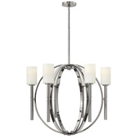 Hinkley 3586PN Margeaux 6 Light 29 inch Polished Nickel Chandelier Ceiling Light