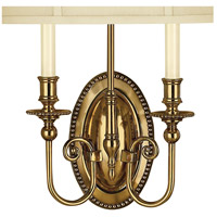 Hinkley 3610BB Cambridge 2 Light 15 inch Burnished Brass ADA Sconce Wall Light alternative photo thumbnail