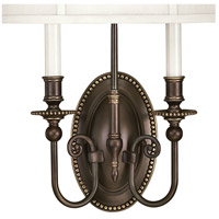Hinkley 3610OB Cambridge 2 Light 15 inch Olde Bronze ADA Sconce Wall Light alternative photo thumbnail