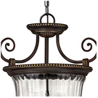 Hinkley 3613OB Cambridge 3 Light 21 inch Olde Bronze Foyer Pendant Ceiling Light alternative photo thumbnail