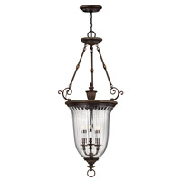 Hinkley 3614OB Cambridge 3 Light 23 inch Olde Bronze Hanging Foyer Ceiling Light