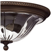 Hinkley 3616OB Cambridge 2 Light 16 inch Olde Bronze Foyer Flush Mount Ceiling Light alternative photo thumbnail