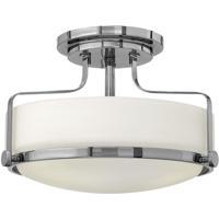 Hinkley Lighting Harper 2 Light Semi Flush in Chrome 3641CM-LED photo thumbnail
