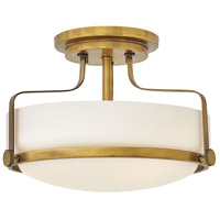 Harper LED 15 inch Heritage Brass Foyer Light Ceiling Light