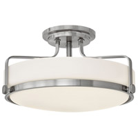Harper LED 18 inch Brushed Nickel Foyer Light Ceiling Light