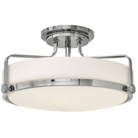 Hinkley 3643CM-LED Harper LED 18 inch Chrome Foyer Light Ceiling Light