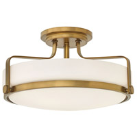 Hinkley 3643HB-LED Harper LED 18 inch Heritage Brass Foyer Light Ceiling Light