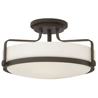 Hinkley 3643OZ-LED Harper LED 18 inch Oil Rubbed Bronze Foyer Light Ceiling Light