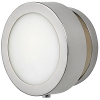 Hinkley 3650PN Mercer 1 Light 7 inch Polished Nickel ADA Wall Sconce Wall Light