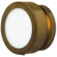 Hinkley Lighting Mercer 1 Light Sconce in Heritage Brass 3650HB