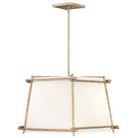 Tress 4 Light 21 inch Champagne Gold Pendant Ceiling Light