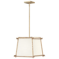 Tress 1 Light 14 inch Champagne Gold Pendant Ceiling Light