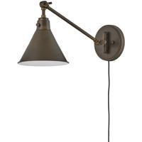 Hinkley 3690OB Arti 1 Light 8 inch Olde Bronze Wall Sconce Wall Light
