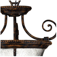 Hinkley 3713FB Rockford 3 Light 21 inch Forum Bronze Foyer Light Ceiling Light, Combo Mount alternative photo thumbnail