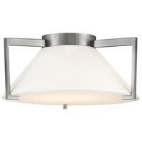 Calla LED 16 inch Antique Nickel Flush Mount Foyer Light Ceiling Light