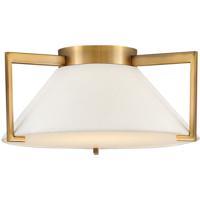 Hinkley 3721BR Calla LED 16 inch Brushed Bronze Flush Mount Foyer Light Ceiling Light