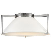 Calla LED 20 inch Antique Nickel Flush Mount Foyer Light Ceiling Light