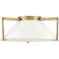Hinkley 3723BR Calla LED 20 inch Brushed Bronze Flush Mount Foyer Light Ceiling Light