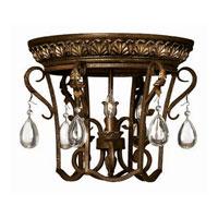 Hinkley lighting veranda 3 light chandelier in summerstone 4893su veranda 3 light flush mount in summerst mozeypictures Images