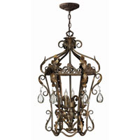 Hinkley Lighting Veranda 4 Light Hanging Foyer in Summerstone 3724SU